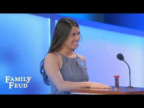 A BALD guy needs THIS to look good? | Family Feud