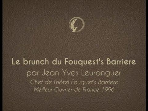 Les Incontournables : le brunch du Fouquet's Barriere par Jean-Yves Leuranguer