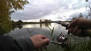 Рыбалка в Калужской области с экшн камерой YI Discovery