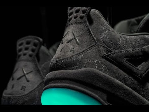3ade4fdd706 Jordan 4 Kaws Real vs Fake comparison - YouTube