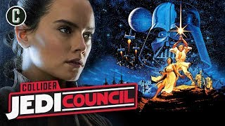 Daisy Ridley Promises Clarity About Rey's Parents in Episode 9 - Jedi Council