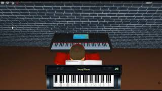 Rosemary's Piano Theme - The Giver de: Marco Beltrami en un piano ROBLOX.