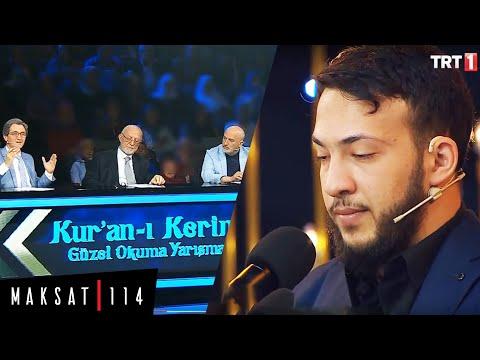TRT1 Jury Reading the Qur'an Reading Contest Tilavet -Abdullah Altun