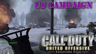 Call of Duty: United Offensive. US campaign