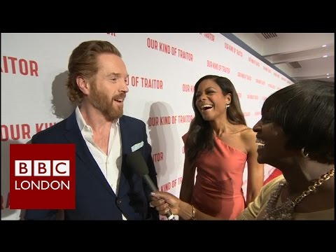 Damian Lewis & Naomie Harris - 'Our Kind of Traitor' red carpet interview
