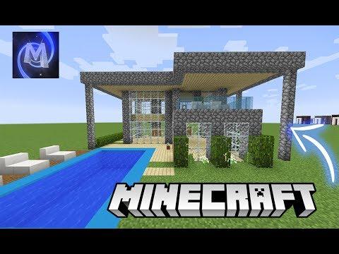 Minecraft : UMA CASA DE PEDREGULHO FICA BOA ???