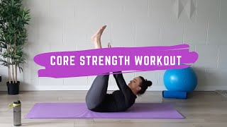 10 Minute Core Strength Workout