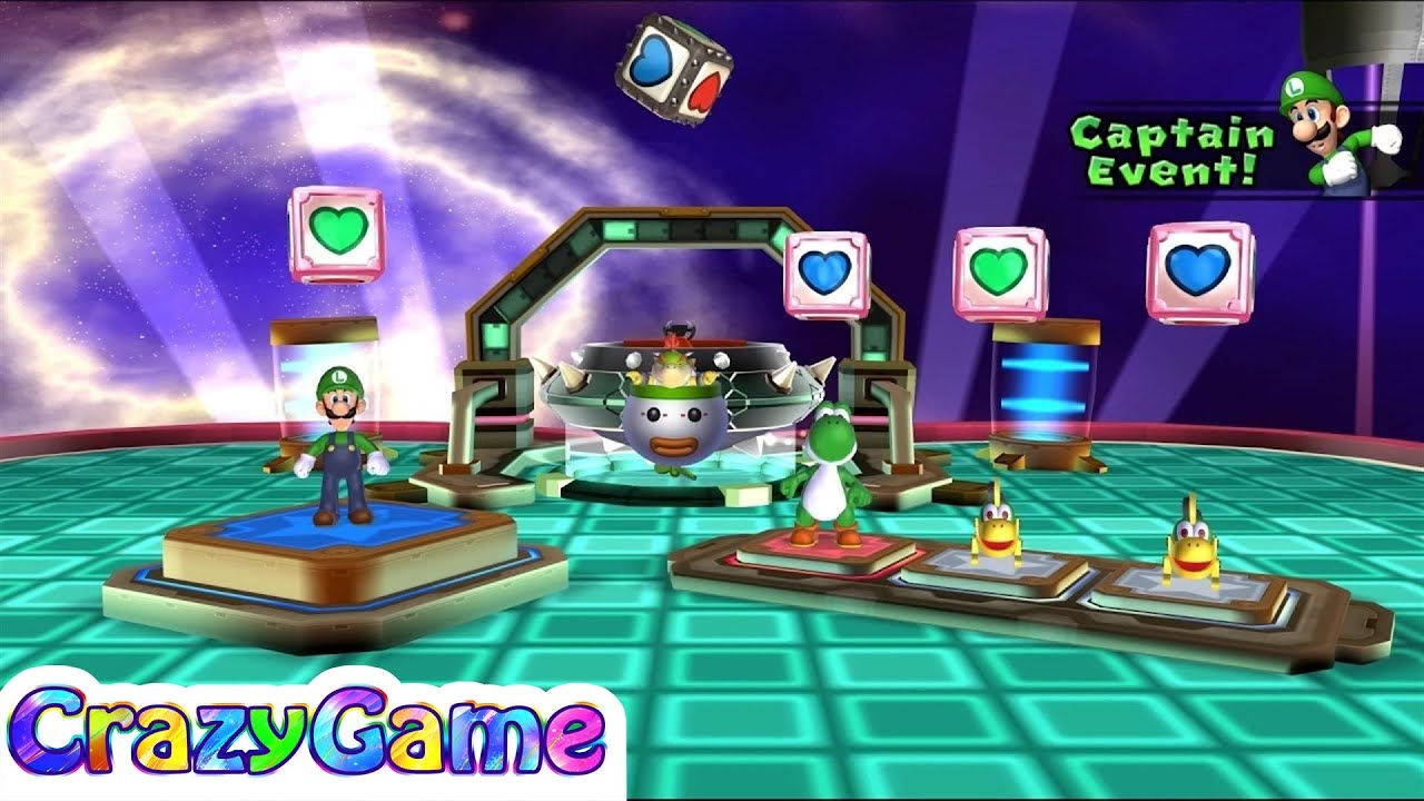 Mario Party 9 Bowser Station Party 15 Master Difficult Youtube