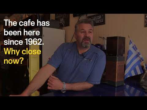 Cafe Navarino Closes After 54 Years