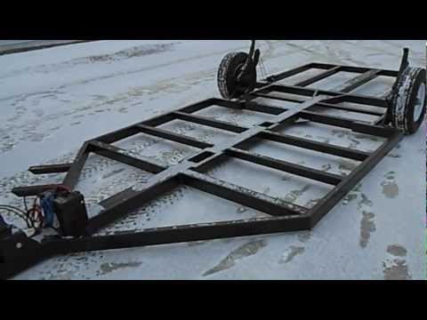 Fish House Frame One Winch
