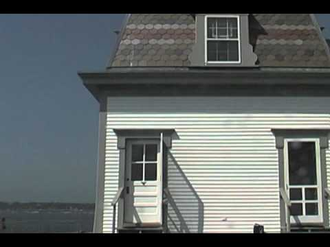 A Tour of the Rose Island Lighthouse clip