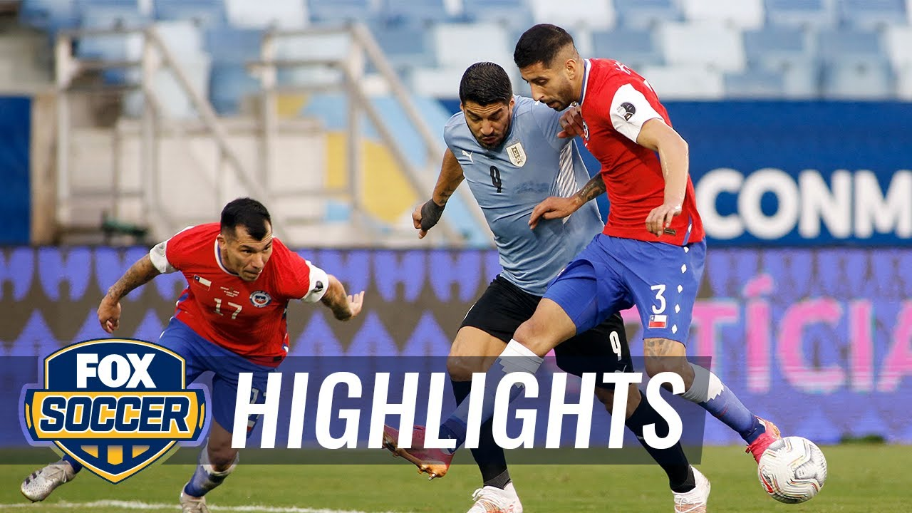 Uruguay keep its Copa America hopes up with 1-1 draw vs. Chile   2021 Copa America Highlights