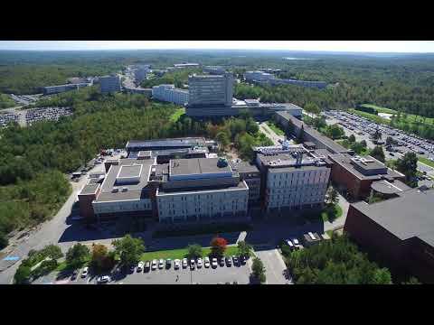 Laurentian Campus Aerial Tour