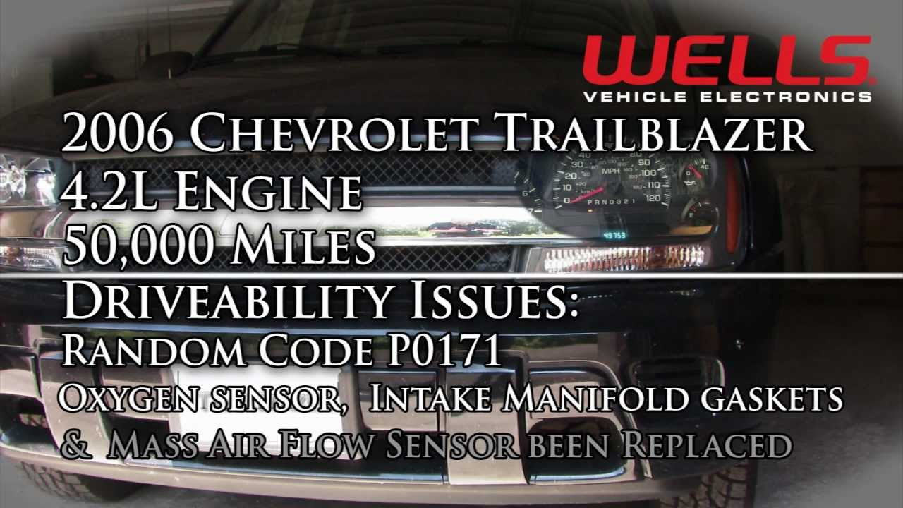2006 Chevrolet Trailblazer P0171 Diagnostics YouTube