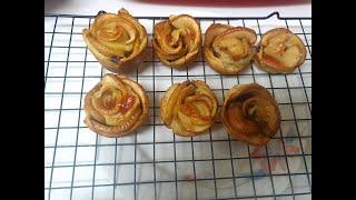 로즈애플파이⚘만들기 홈베이킹 애플파이만들기 시나몬애플파…