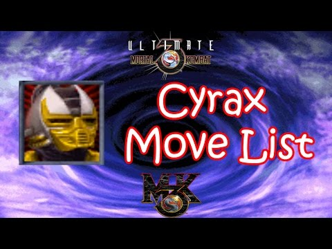 UMK3 / MK3 - Cyrax Move List