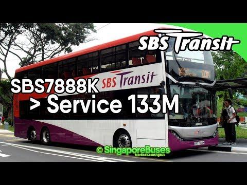 (SBST) Scania K310UD Demonstrator (SBS 7888 K) - Service 133M