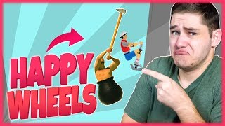 "Happy Wheels #157 - ""GORSZE NIŻ GETTING OVER IT?!"""