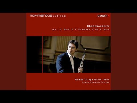 Oboe Concerto In G Minor, BWV 1056: I. [Allegro]
