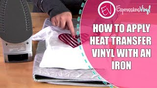 Heat Transfer Vinyl with an Iron