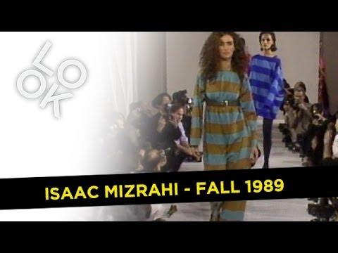 Isaac Mizrahi Fall 1989: Fashion Flashback