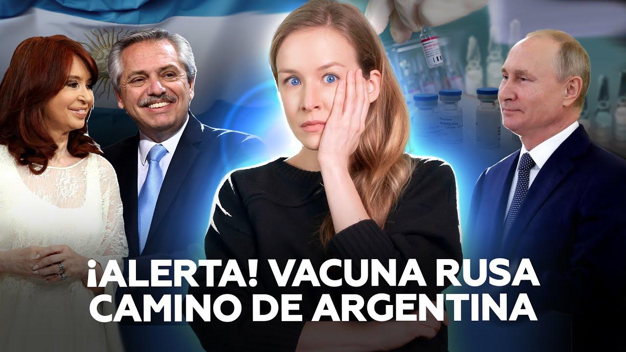 Sputnik V 'invade' la Argentina (y se desata la locura en los grandes medios)