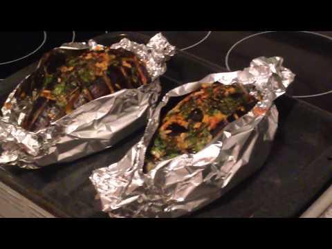 Рецепт: Баклажаны в духовке по-гречески на