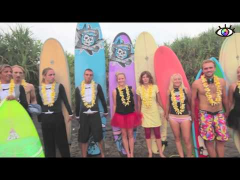 свадьба в океане surf wedding surfvision