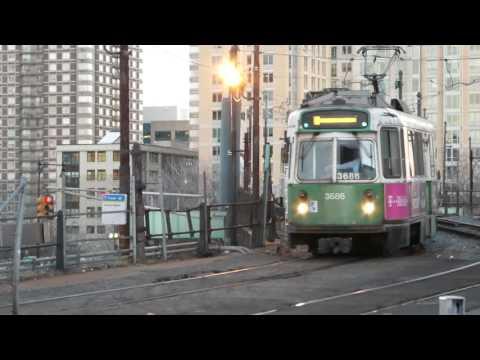ボストン地下鉄グリーンライン リッチメア駅 MBTA Green Line Lechmere Station