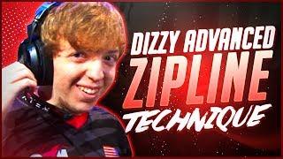 Apex Legends -  Dizzy 's Advanced Zipline Technique and How to do it! (Movement Guide)