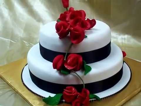 why is wedding cake tiered fresco foods creates a 2 tier wedding cake with roses 27472