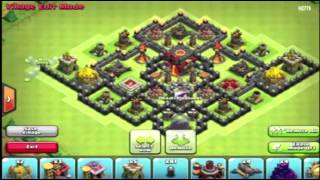 Clash of Clans TH10 Trophy Pushing War base after halloween update