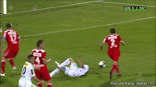 FC Trenkwalder Admira - SK Rapid Wien - 4:3 - 1.10.2011 - 10. Runde Bundesliga - Tore (HD 720p)