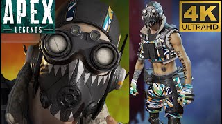 New Apex Legends Monster Energy Octane Abstract Splash Skin Full Showcase And Giveaway! #4K