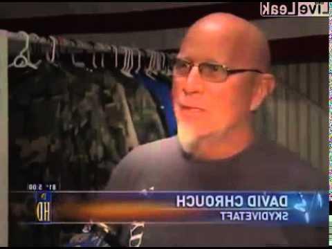 Skydiving sex video
