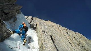 10817_ Goulotte Non Stop Mont-Blanc du Tacul Chamonix Mont-Blanc alpinisme