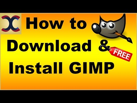 How to Download and Install Gimp Latest version