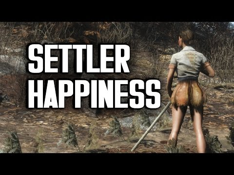Part 2 - The Great Fallout 4 Happiness Experiment - Settlement Happiness