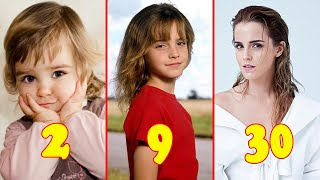 Emma Watson from 1 to 30 Years Old 2021 👉 @Teen Star Resimi