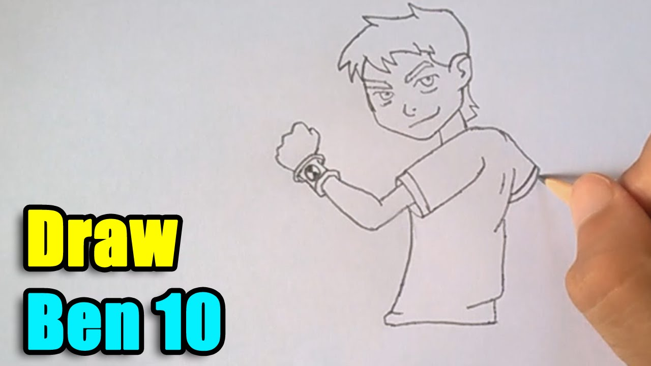 How To Draw Ben 10 Youtube