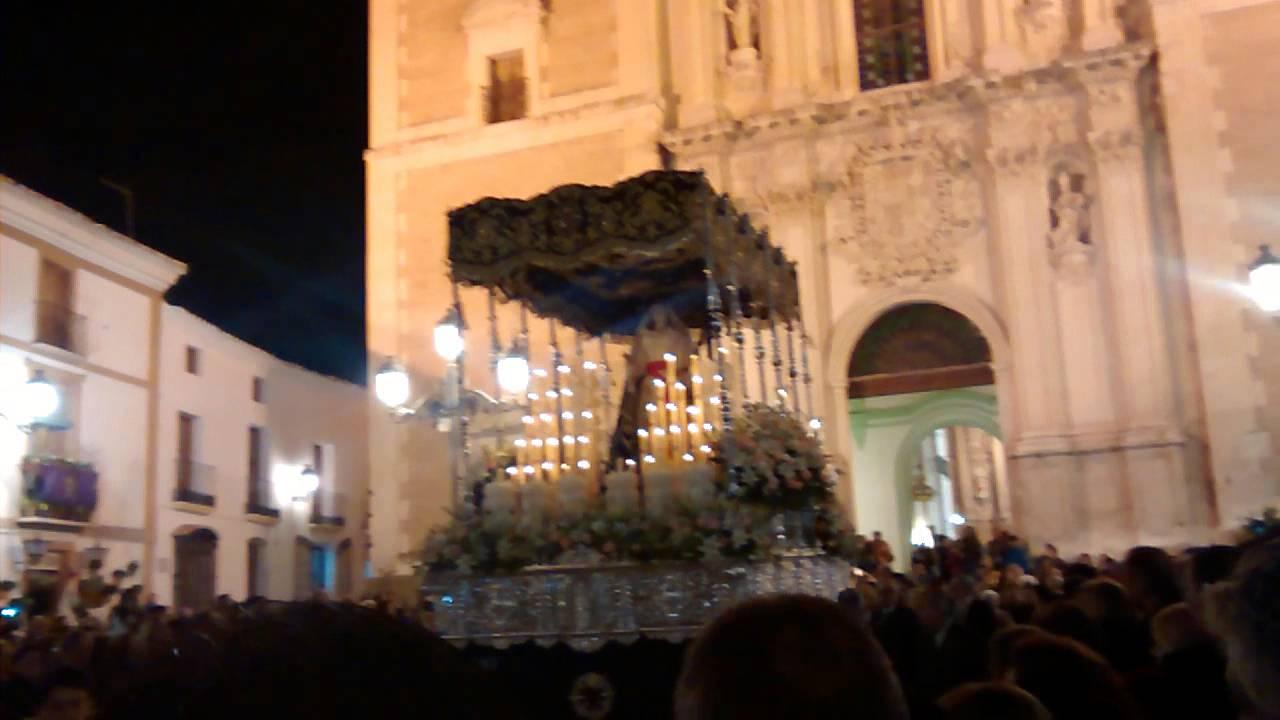 Procesion Virgen de los Dolores Velez Rubio 2014