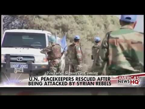 Psalm 83 : Israel on High Alert as ISIS Syrian Rebels take Golan Heights Crossing (Sept 01, 2014)