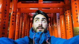 DI NOTTE nella FORESTA del FUSHIMI INARI - Kyoto - Giappone pt.9 thumbnail