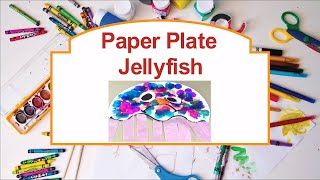Jellyfish Paper Plate Art - West Hartford Library Services