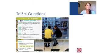 Онлайн курс английского для начинающих. Урок 5. Вопросы с глаголом Be. Голосовое сообщение.