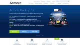 Acronis Backup 12 Demo Video: Signing up for Acronis Backup 12 Trial