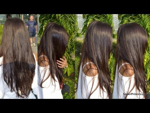 hair care routine indian long