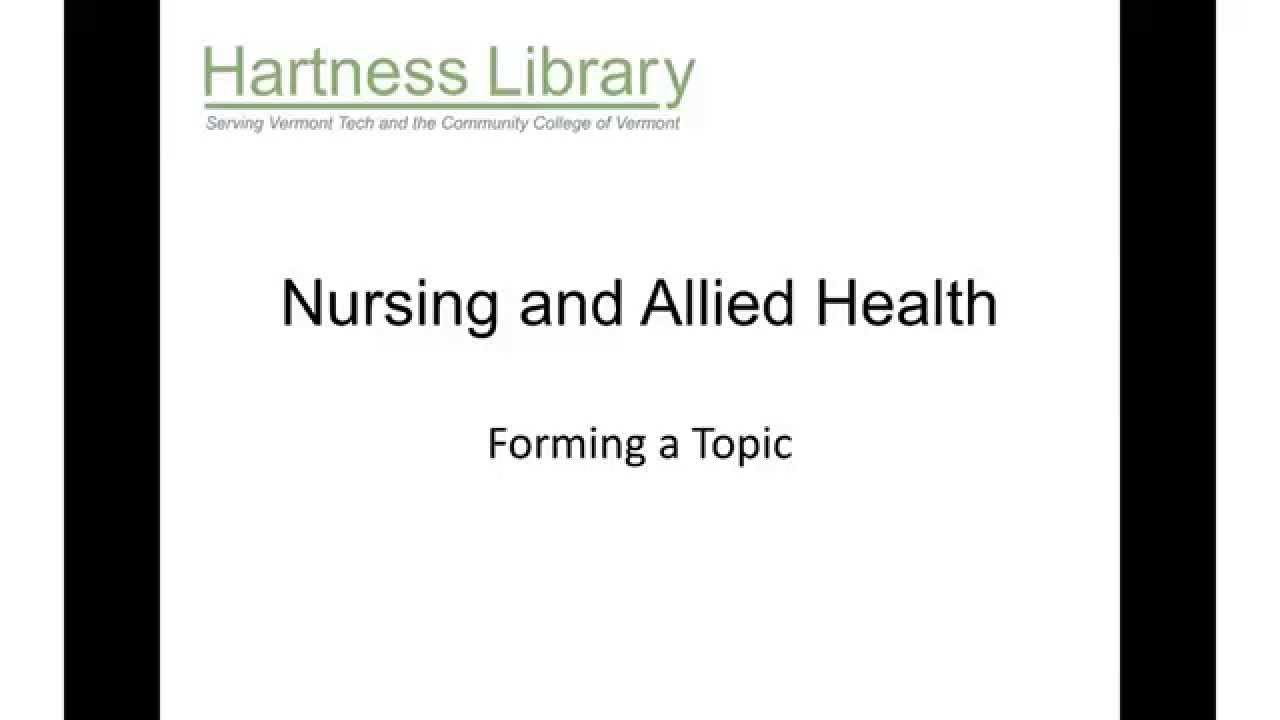 Help on a health paper on the topic!?