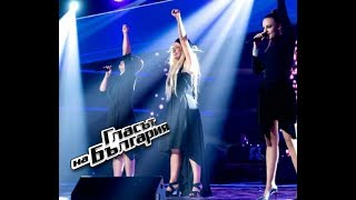 Симона, Сара Сюзет и Поли Генова – If Love Was a Crime – Концерт 2 – Гласът на България 4