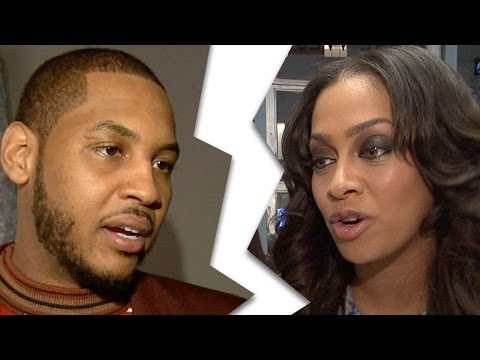 Carmelo Anthony Gets a Stripper PREGNANT, Splits From Wife Lala